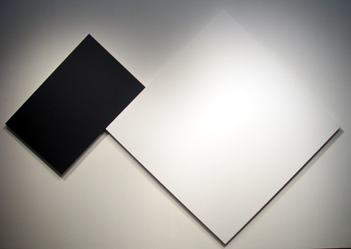 White Black, 1988 - Ellsworth Kelly