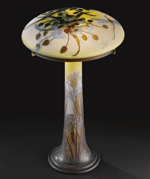 Dragonfly Table Lamp   Emile Galle