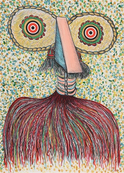 Ritratto immaginario di Asger Jorn, 1976 - Enrico Baj