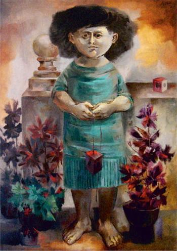 Mujer - Enrique Grau