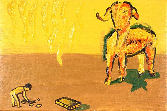 Carne e vestito, 2007 - Enzo Cucchi
