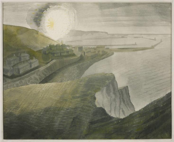 Shelling by night, 1941 - Ерік Равіліус