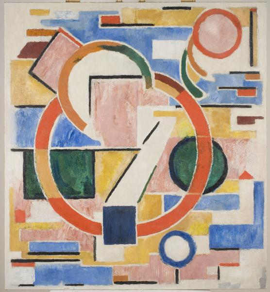 Abstract Composition, 1920 - Erich Buchholz
