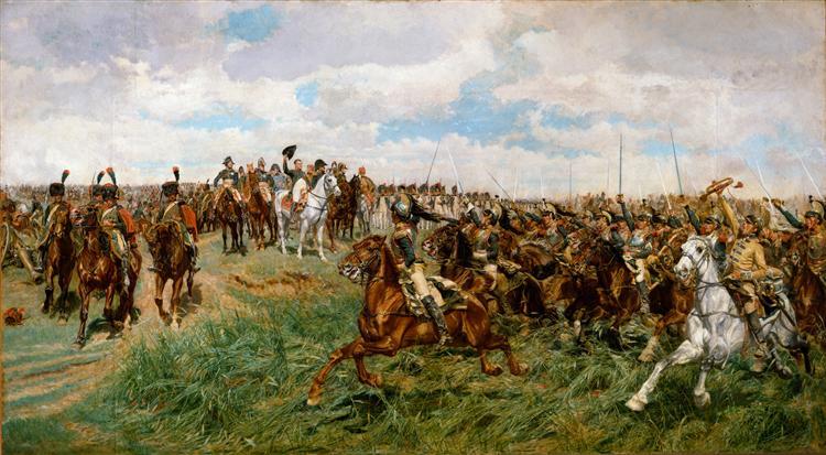 1807, Friedland, c.1861 - c.1875 - Ernest Meissonier