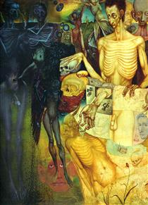Transformations of Flesh - Ernst Fuchs