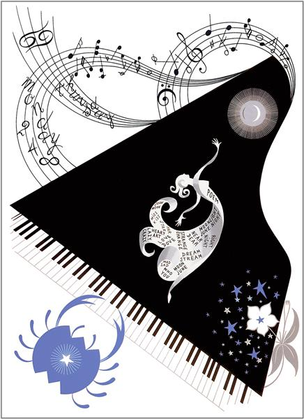 The Zodiac, Cancer - Erte