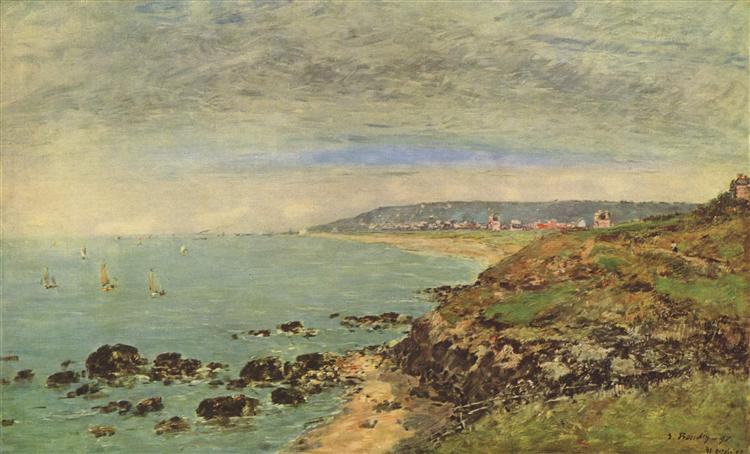 Atlantic coast near Benerville, 1897 - Eugene Boudin