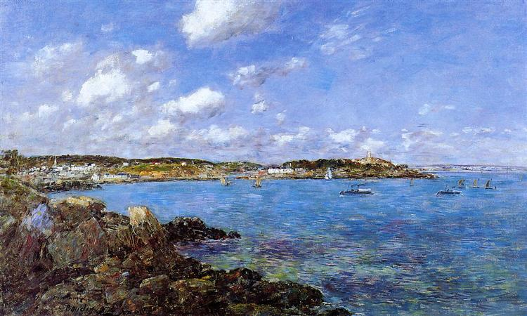 The Bay of Douarnenez, 1897 - Eugene Boudin