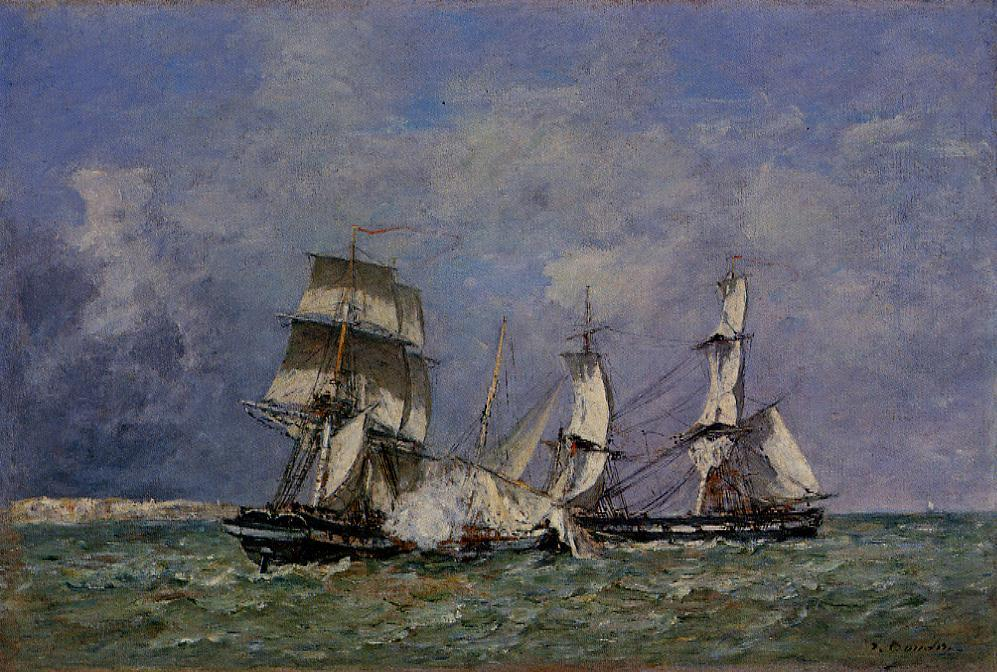 The Capture of the 'Petit Rodeur', 1878