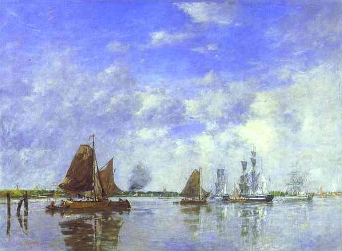 The Meuse at Dordrecht, 1882