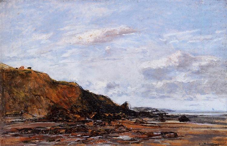 The Sea at Douarnenez, 1897 - Eugène Boudin