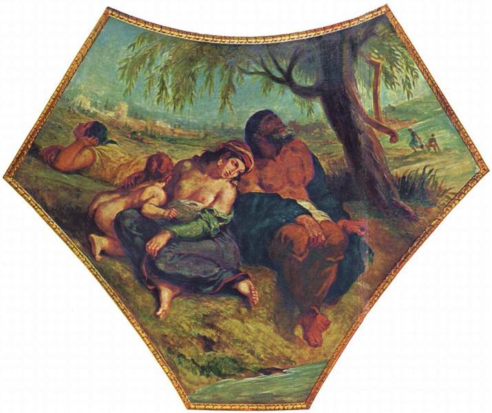 Babylonian Captivity, 1838 - Eugene Delacroix