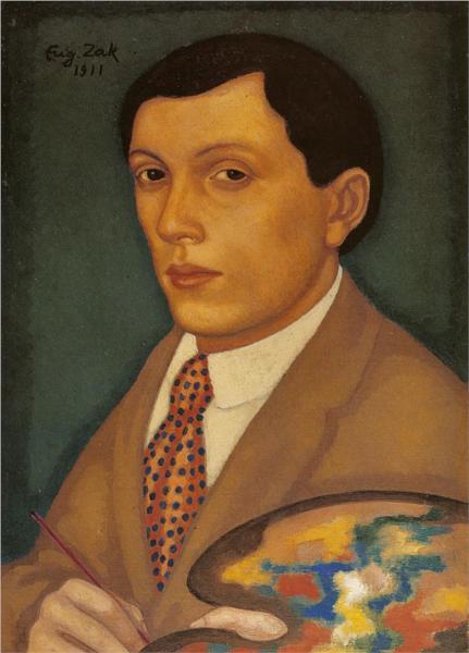 Self-Portrait, 1911 - Eugeniusz Zak