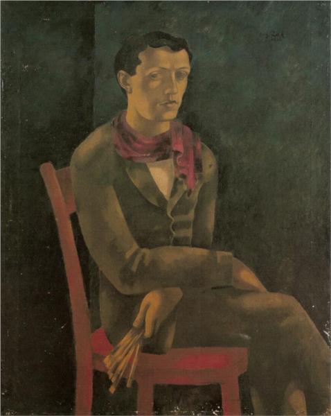 Self-Portrait, 1916 - Eugeniusz Zak
