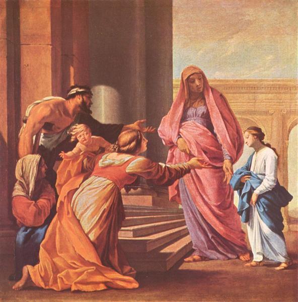 Presentation of the Virgin in the Temple, c.1640 - c.1645 - Eustache Le Sueur