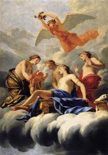 The Birth of Cupid - Eustache Le Sueur