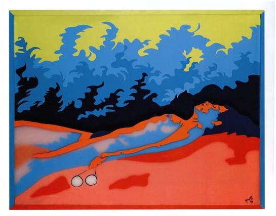 L'Herbe Folle, 1972 - Евелін Аксель