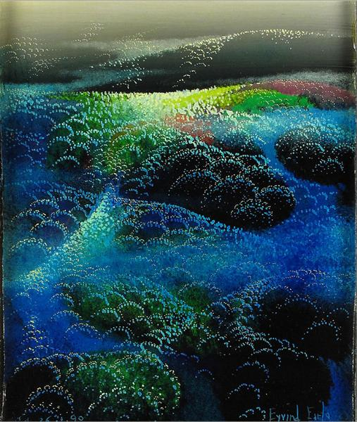 Fields Of Fog, 1990 - Eyvind Earle