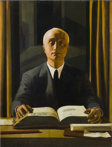 Ritratto di Riccardo Gualino, 1922 - Феліче Казораті
