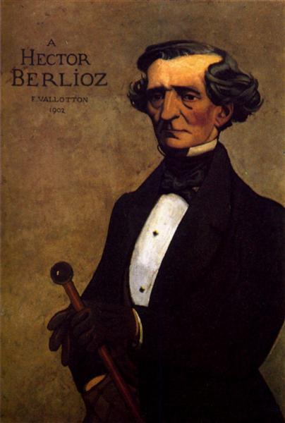 Portrait of Berlioz, 1902 - Felix Vallotton