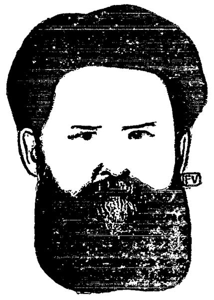 Portrait of Russian writer Vladimir Galaktionovich Korolenko - Felix Vallotton
