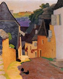 Rocamadour Landscape - Felix Vallotton