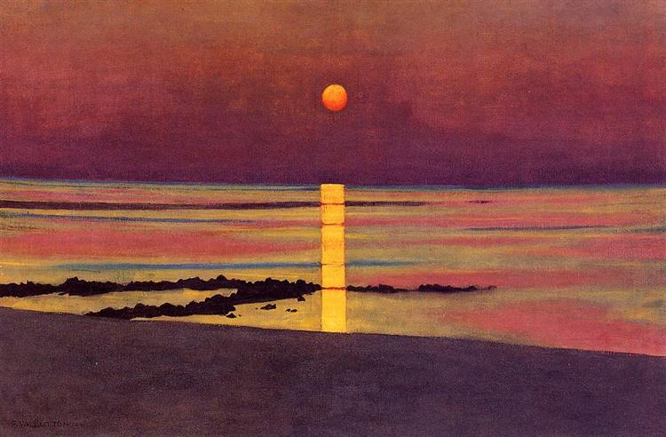 Sunset, 1913 - Felix Vallotton