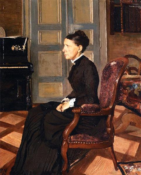 The Artist`s Mother, 1884 - Felix Vallotton