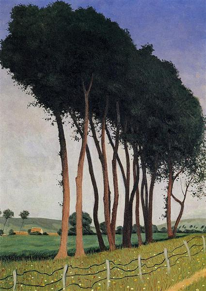 The Family of Trees, 1922 - Felix Vallotton