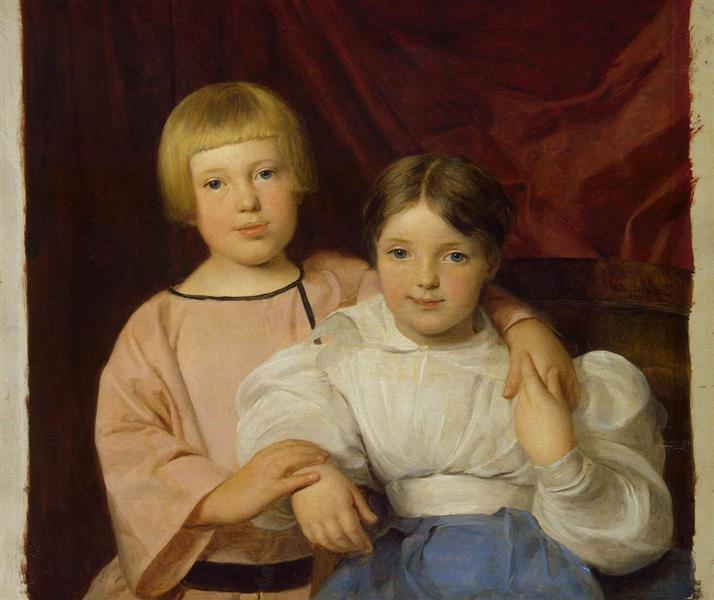 Children, 1834 - Ferdinand Georg Waldmüller