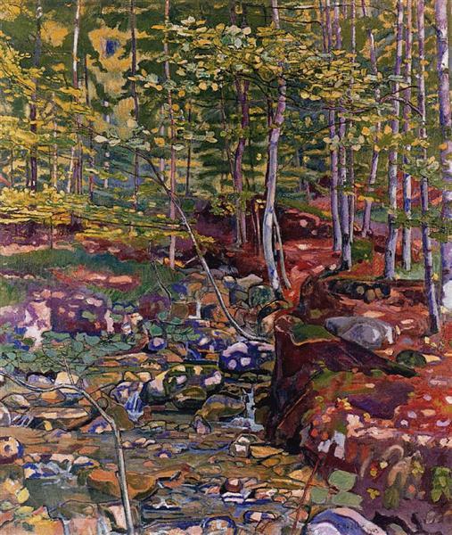 The Forest near Reichenbach, 1903 - Ferdinand Hodler