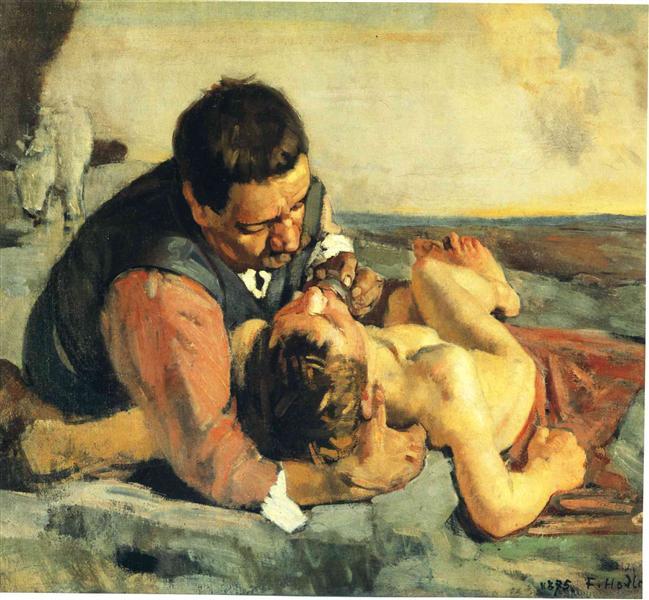 The Good Samaritan, 1885 - Ferdinand Hodler
