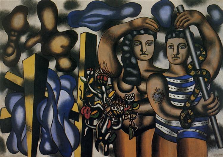Adam and Eve - Leger Fernand
