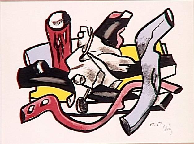 Branches (Logs), 1955 - Fernand Léger