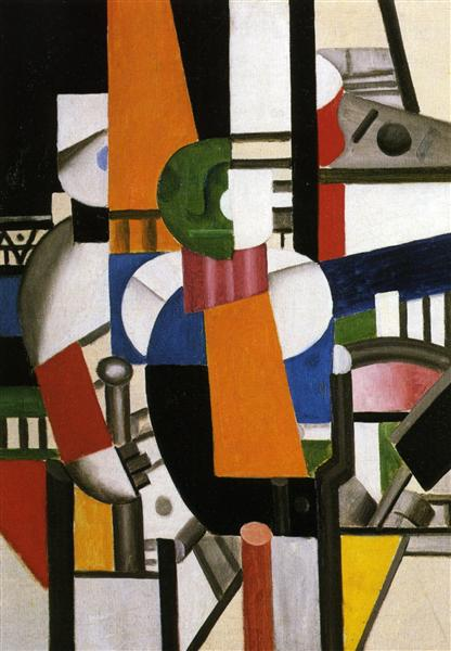 The Man With The Cane 1920 Fernand Leger Wikiart Org