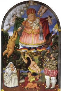Portale celeste - Fernando Botero