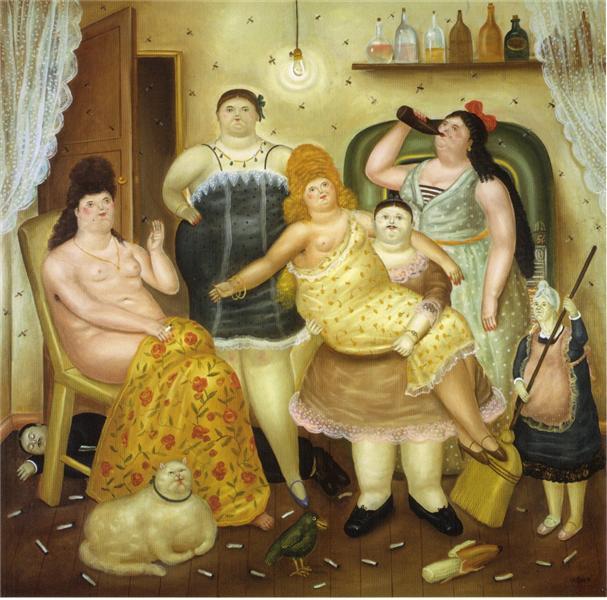 House Mariduque, 1970 - Fernando Botero