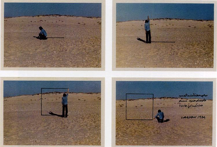 Materialização de um quadro imaginário, 1975 - Fernando Calhau