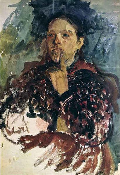 A Peasant Woman - Filipp Malyavin