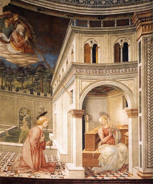 Annunciation, 1467 - 1469 - Filippo Lippi