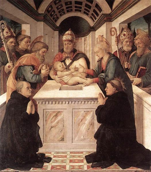 Circumcision, 1460 - 1465 - Filippo Lippi