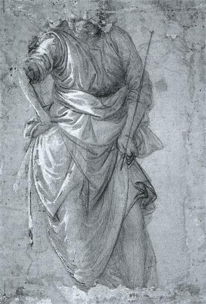Figure study, 1465 - Filippo Lippi