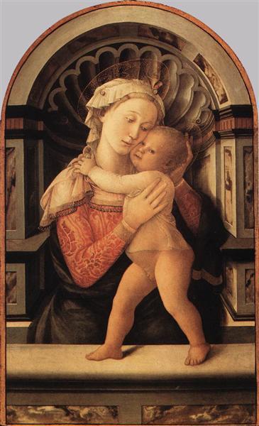 Madonna and Child, 1466 - Filippo Lippi