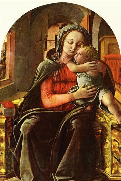Madonna Enthroned, 1447 - Filippo Lippi