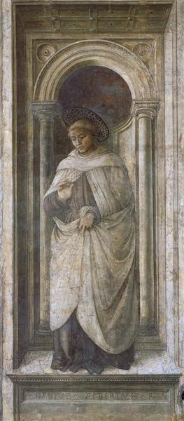 St. Alberto of Trapani, 1465 - Fra Filippo Lippi