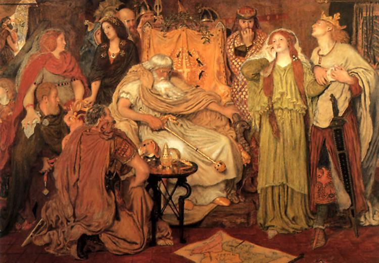 Cordelia's Portion, 1866 - 1872 - Ford Madox Brown