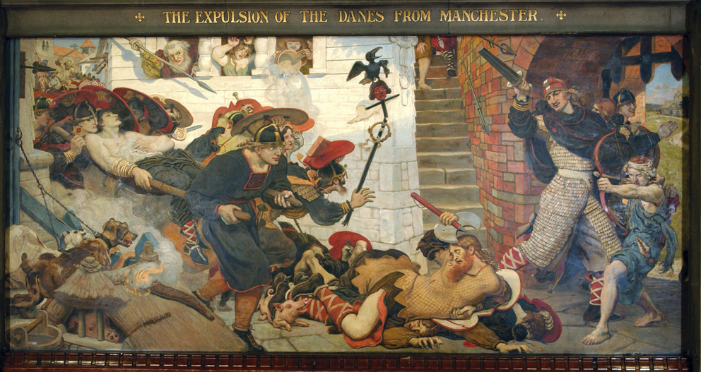 The Expulsion of the Danes from Manchester