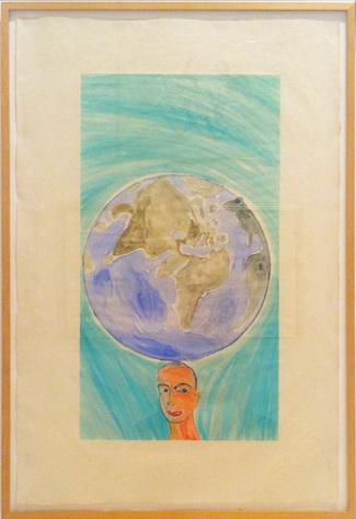 Untitled, 1986 - Francesco Clemente