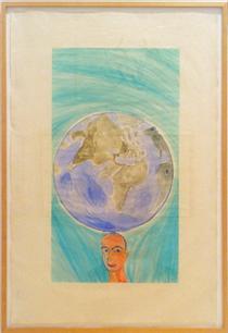 Francesco Clemente 17 Artworks Wikiart Org
