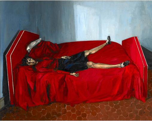 Le lit rouge - Francis Gruber